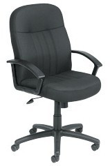 Boss Executive Fabric Swivel Chair [B8306] -1