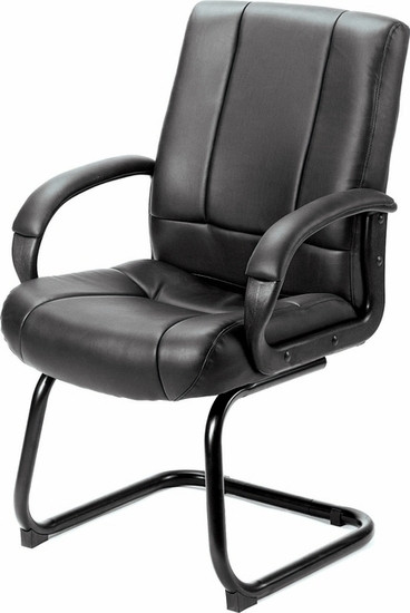 Boss Vinyl Guest Chair [B7909] -1