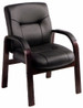 Boss Executive Leather Guest Chair [B8909] -1
