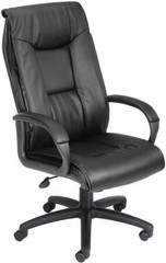 Boss LeatherPlus™ High Back Office Chair [B7601] -1