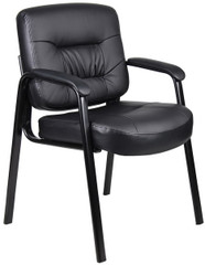 Boss LeatherPlus Leather Guest Chair [B7509] -1