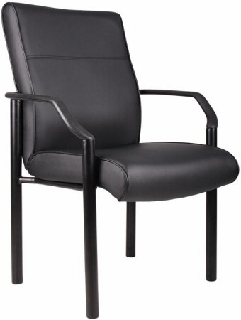 Boss LeatherPlus™ Office Guest Chair [B689] -1
