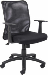 Boss Mesh Task Chair with Arms [B6106] -1
