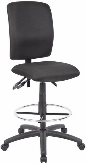 Boss Multi Function Ergonomic Drafting Chair [B1635] -1