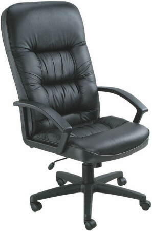 Boss Plush Leather Executive Chair [B7301] -1
