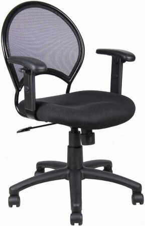 Boss Screen Back Mesh Desk Chair [B6216] -1