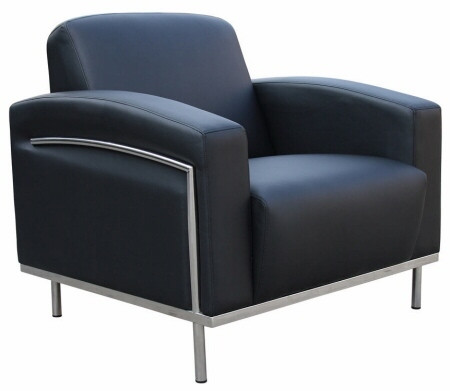 CaressoftPlus™ Contemporary Lounge Chair [BR99001] -1