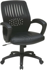 Contoured Mesh Back Visitor Chair [EM5972V] -1