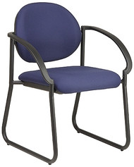 Deluxe Office Reception Chair with Arms [V3460] -1