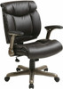 Eco-Leather Office Desk Chair with Flip Arms [ECH8967R5] -2