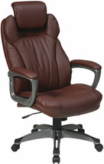 Executive Eco Leather Office Chair with Headrest [ECH85807] -1