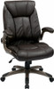 Faux Leather Mid Back Manager Chair [FLH24981] -1