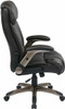 Flip Arm Eco-Leather Executive Chair [ECH38615A] -3