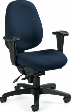Global Dexter™ Mid Back 24 Hour Chair [2437-1] -1