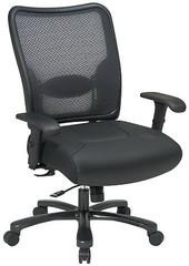 Office Star Heavy Duty Mesh Back Office Chair [75-47A773] -1