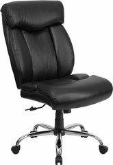 Hercules Big and Tall Leather Chair [GO-1235-BK-LEA-GG] -1