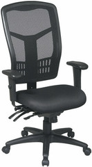 High Back Ergonomic Mesh Office Chair with Arms [92892] -1