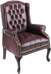 Traditional Queen Anne Style Chair [TEX234] -1