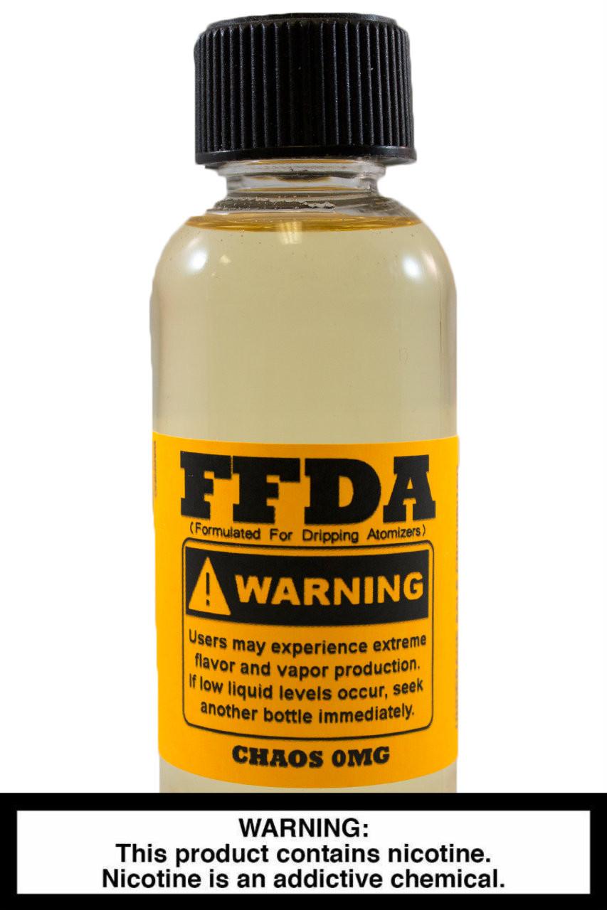 FFDA Vape Juice: Chaos 60ml