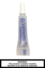 Sapphyre Nic - 10% Liquid Nicotine - 0.9ml (5 Pack)