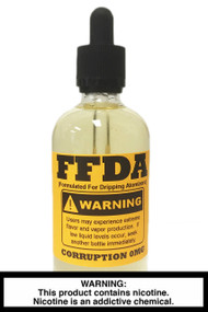 FFDA Vape Juice: Corruption 120ml