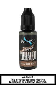 Sapphyre sweet tobacco nic salt e-liquid- 45mg