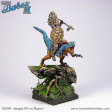 20006 - Jungle Elf on Raptor