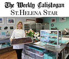 Calistoga Weekly and St. Helena Star article