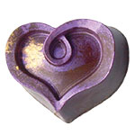 Hazelnut Praline Heart