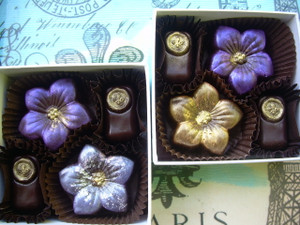 Floral Collection with Bee Kisses, 4-Piece Box