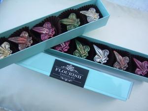 Fleur de Lys, 5-piece box