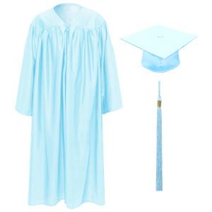 Sky Blue Little Scholar™ Cap, Gown & Tassel + FREE DIPLOMA