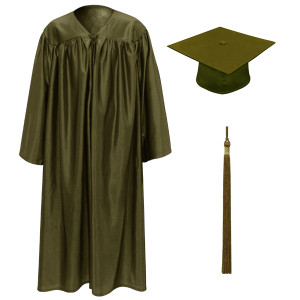Brown Little Scholar™ Cap, Gown & Tassel + FREE DIPLOMA