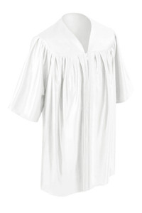 White Little Scholar™ Gown