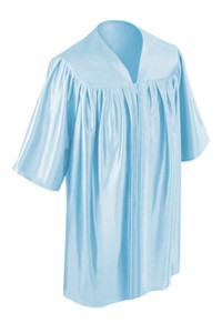 Sky Blue Little Scholar™ Gown
