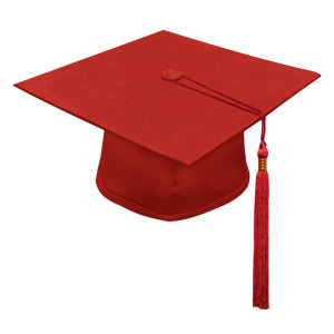 Red Little Scholar™ Cap & Tassel