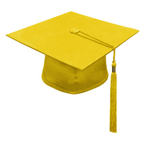 Bright Gold Little Scholar™ Cap & Tassel
