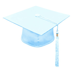 Sky Blue Little Scholar™ Cap & Tassel