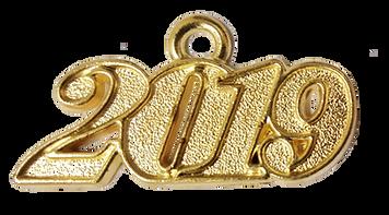 Tassel Year Date Charm