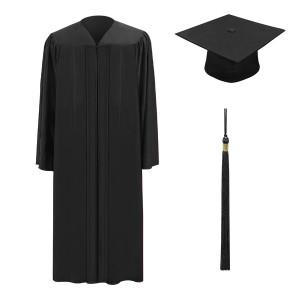 Black M2000™ Cap, Gown & Tassel