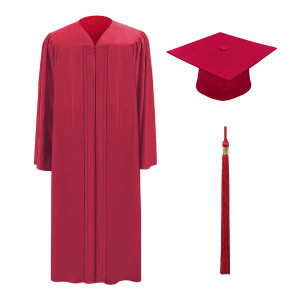 Red M2000™ Cap, Gown & Tassel