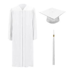 White M2000™ Cap, Gown & Tassel