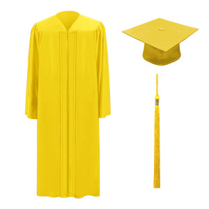Bright Gold M2000™ Cap, Gown & Tassel