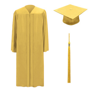 Antique Gold M2000™ Cap, Gown & Tassel