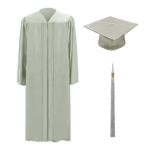 Light Grey M2000™ Cap, Gown & Tassel