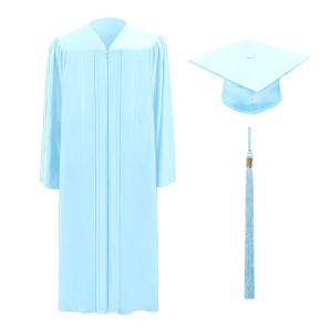 Sky Blue M2000™ Cap, Gown & Tassel