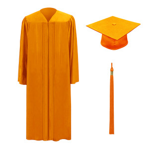 Orange M2000™ Cap, Gown & Tassel