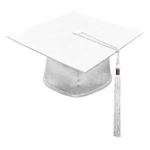 White M2000™ Cap & Tassel