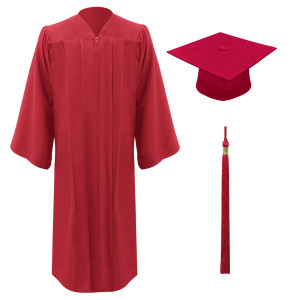 Red Freedom™ Cap, Gown & Tassel
