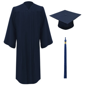 Navy Freedom™ Cap, Gown & Tassel
